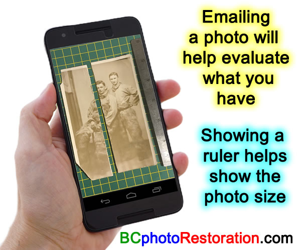 British Columbia Photo Restoration  Bringing FADED or partially lost PHOTOS back to LIFE by Ric Wallace