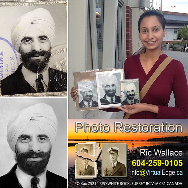 Bringing FADED or partially lost PHOTOS back to LIFE by Ric Wallace